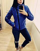 """Куртка демисезонная женская """"Ариэла""""  Распродажа электрик, 46"""