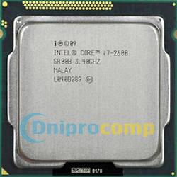 Intel Core i7-2600 3.4 GHz/8M (s1155)