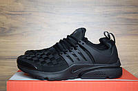 Мужские кроссовки Nike Air Presto  All Black