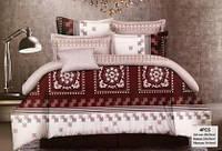 Качественный комплект постельного евро белья, от производителя Код:652310168