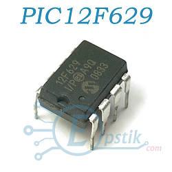PIC12F629, 8-bit CMOS мікроконтролер, DIP8