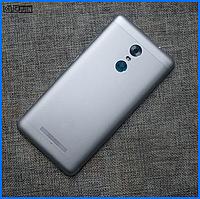 Задняя крышка для Xiaomi Redmi Note 3, серебристая, оригинал