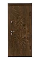 Входные двери Eurodoor 817 860R Орех темный