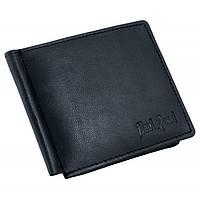 Кожаный зажим для денег Paul Rossi C2-S BLACK, фото 1