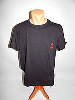 Мужская футболка Ferrari реплика р.56  012Ф черная