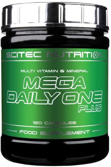 Витамины и минералы Scitec Nutrition - Mega Daily One Plus (120 капсул)