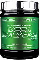 Витамины и минералы Scitec Nutrition - Mega Daily One Plus (120 капсул)