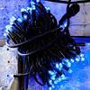 СВЕТОДИОДНАЯ НИТЬ, 10 метров -цвет светодиодов(синий)