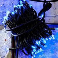 СВЕТОДИОДНАЯ НИТЬ, 10 метров -цвет светодиодов(синий), фото 1