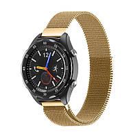 Миланский сетчатый ремешок Primo для часов Huawei Watch 2 - Gold