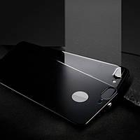 Защитное стекло 4D Metal Back для iPhone 7 Plus (на заднюю крышку)