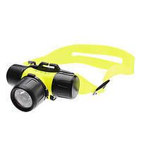 Подводный налобный фонарь для дайвинга BL6800