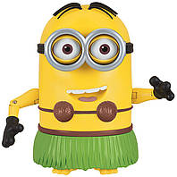 Интерактивный миньон Хула Despicable Me Talking Hula Minion Dave Toy Figure