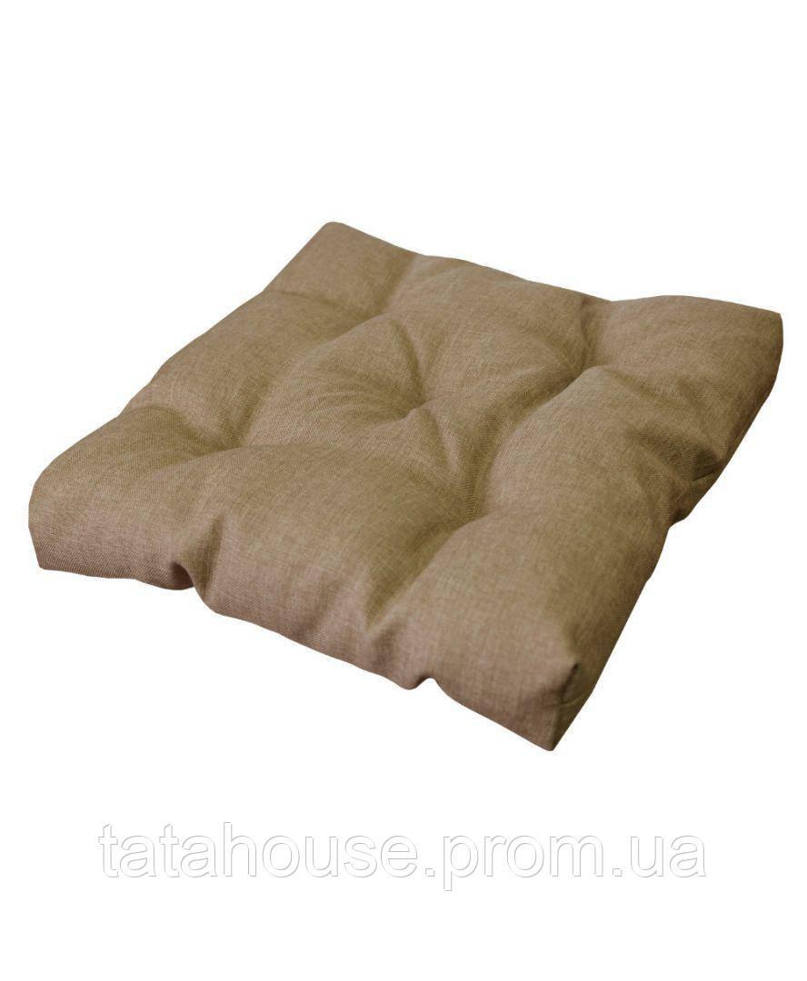 Подушка на стул TWIST Бежевая 40х40
