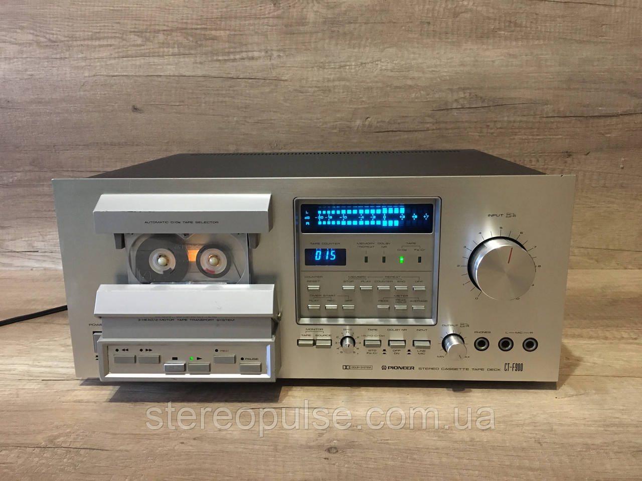 Кассетная дека Pioneer CT-F900, фото 1