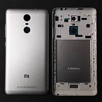 Задняя крышка для Xiaomi Redmi Note 3, серая, оригинал