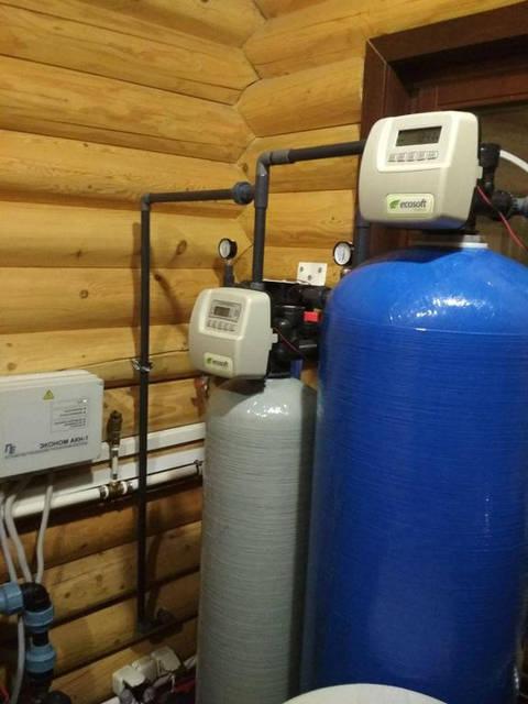 Установка очистки воды в большом загородном коттедже 7