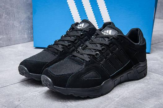 Кроссовки мужские Adidas EQT Support 93, черные (11654), р. 41-45