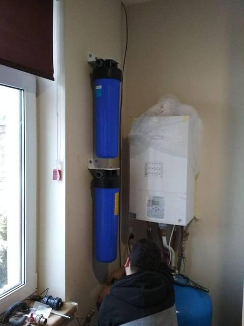 Очистка воды в Бане одного из коттеджей Куреневки 4