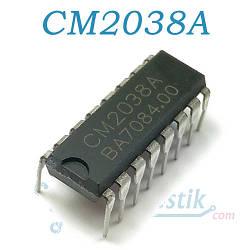 CM2038A, двухканальный 3.5W аудио усилитель, DIP16