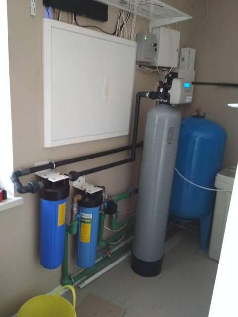 Очистка воды в коттедже на Куреневке 6
