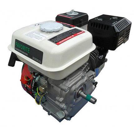 Двигатель бензиновый Iron Angel Favorite 420-S (16 л.с., вал 25 мм, шпонка), фото 2