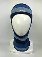 Детская весенняя шапка-шлем для мальчика 1511-34