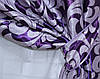 """Комплект готовых штор  блэкаут """"Вензель"""" двусторонний. Цвет фиолетовый  184ш (А), фото 3"""