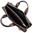 Кожаная мужская сумка для документов Desisan, фото 7