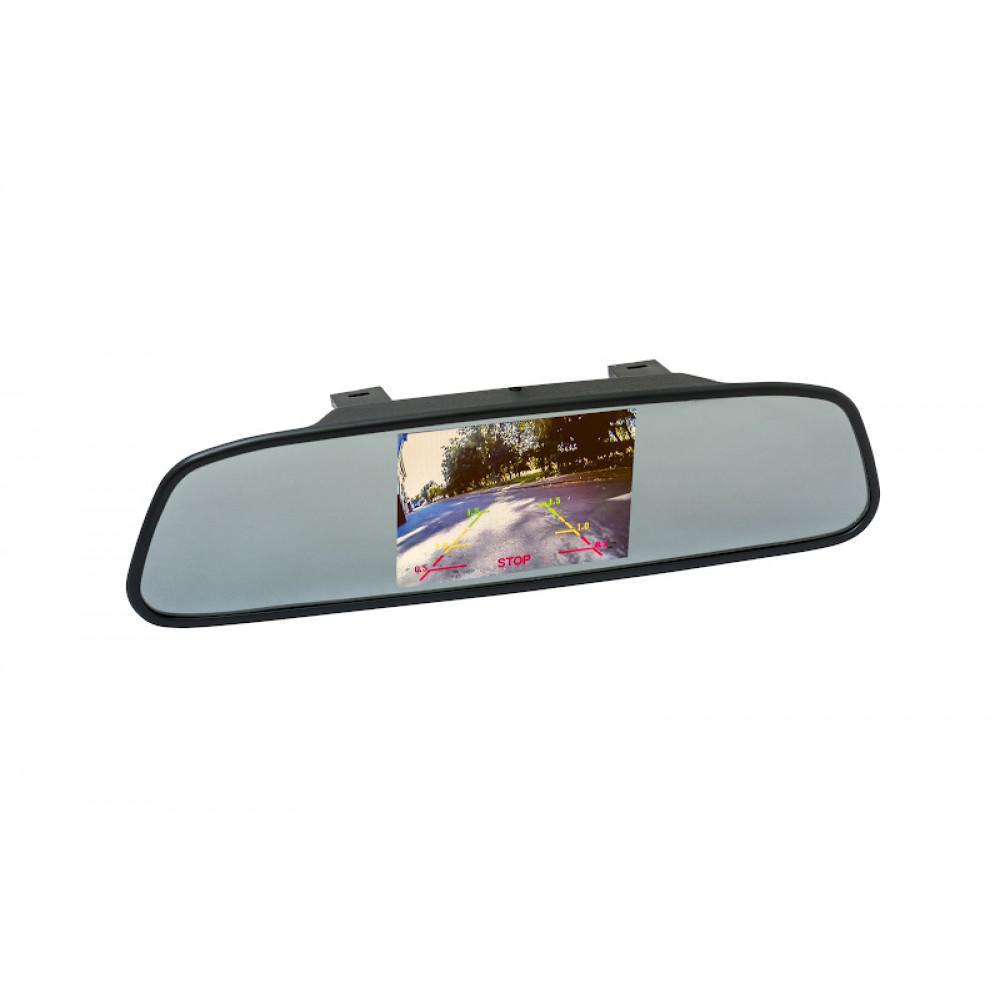Дзеркало - накладка з монітором PHANTOM RM-50