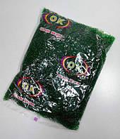 Бисер мелкий №10, сочная зелень, прозрачный.