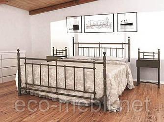 Двоспальне ліжко Неаполь Метал Дизайн