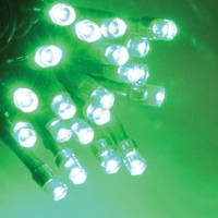 Светодиодная ГИРЛЯНДА НИТЬ, 10 метров -зеленый, фото 1