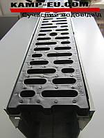Комплект линейный водоотвод 1м 150\ПП черный