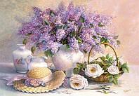 Пазл Цветы, живопись, 1000 элементов Castorland С-102006