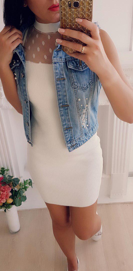 Платье резинка обтягивающеетрикотаж сетка