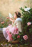 Пазлы Поцелуй ангела, 1000 элементов Castorland С-102297