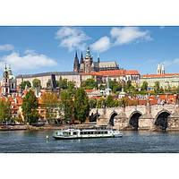 Пазлы Прага, Чехия, 1000 элементов Castorland С-102426