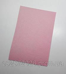 Фетр 3 мм., цвет - розовый.