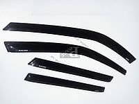 Ветровики — дефлекторы окон ВАЗ 1117 Калина универсал (на скотче)