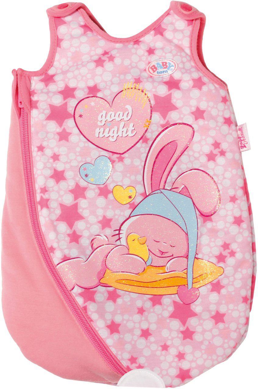 Спальник конверт Zapf для куклы Baby Born Спокойные сны 822616