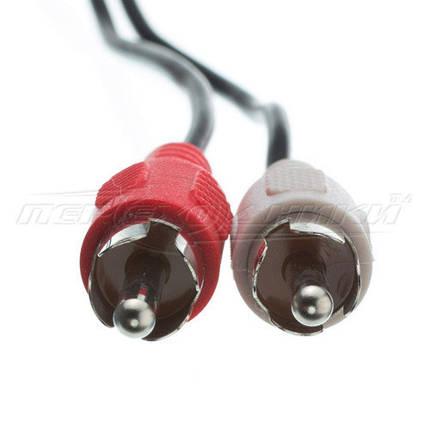 Аудио кабель jack 3.5 mm to 2RCA (эконом качество), 10 м, фото 2