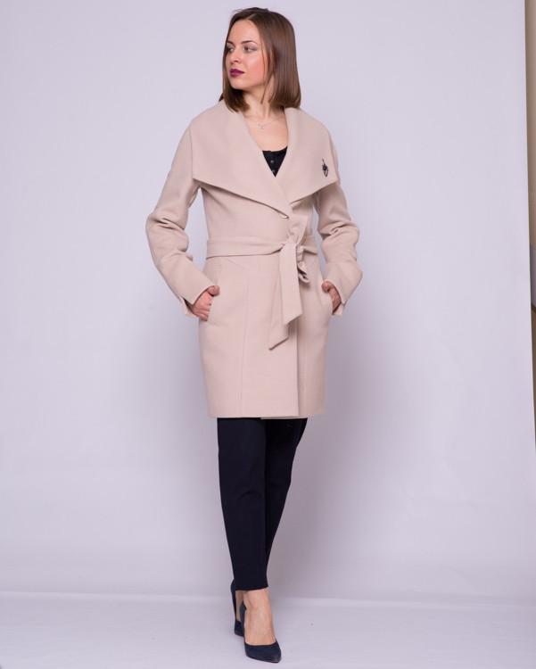Пальто под пояс