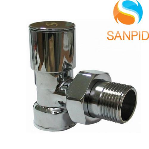 Вентиль для полотенцесушителя угловой Solomon 1 2