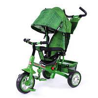 Детский трехколесный велосипед BT-CT-0005 TILLY ZOO-TRIKE GREEN