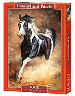 """Пазлы """"Бегущая лошадь Castorland 1000 элементов"""