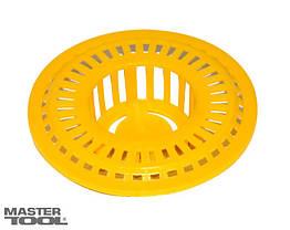 MasterTool  Ситечко для раковины пластиковое Ø60 мм, Арт.: 92-0146