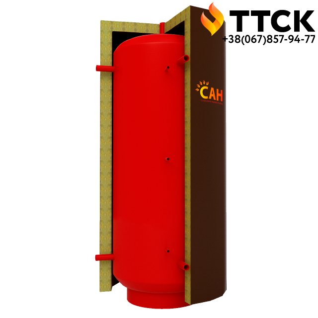 САН теплоаккумулятор без змеевика для системы отопления объёмом 5000 л
