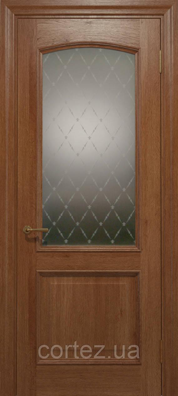 Межкомнатные двери шпон Модель E012