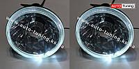 CRUISE Star - Оптика с рассеивателем, рефлекторным отражателем и ангельскими глазками на ВАЗ 2103-06,  RM-3000